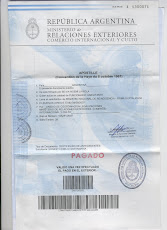 REPUBLICA ARGENTINA - MINISTERIO DE RELACIONES EXTERIORES COMERCIO INTERNACIONAL Y CULTO