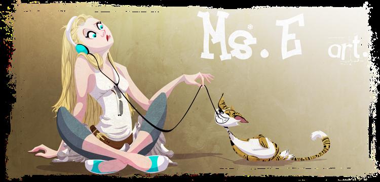 Ms. E. art