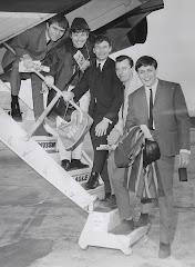 The Hillsiders on the way to Nashville, 1967