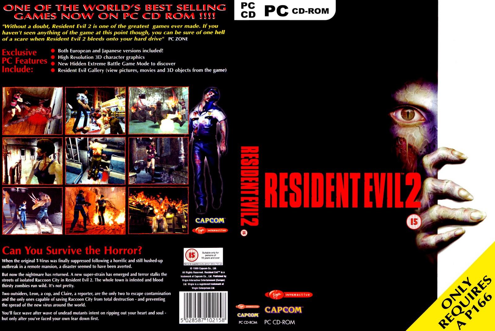 Resident Evil 2 Para Pc En Espanol