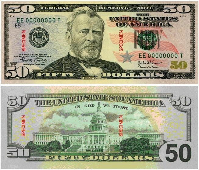 The lovely 100 dollar bill