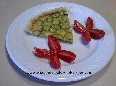 ricette estive ... torta salata di zucchine ...