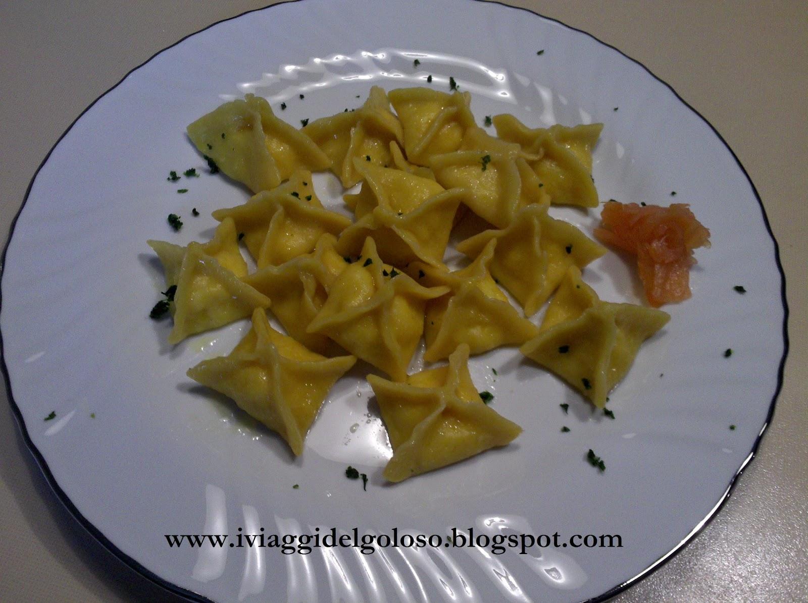 I viaggi del goloso ricette di pasta fresca fagottini for Ricette di pasta