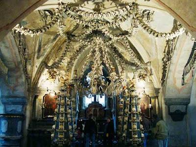 捷克 人骨教堂