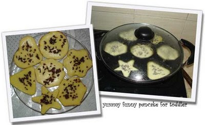 The SetyaWijayas: Yummy Funny Pancake for Toddler