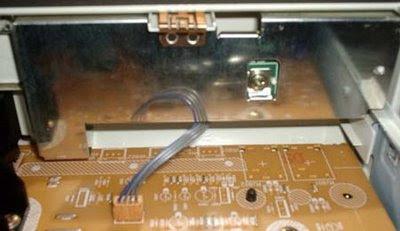 DVD-4230N LG - Blindagem da placa do painel