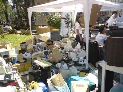 Reciclando lixo eletrônico