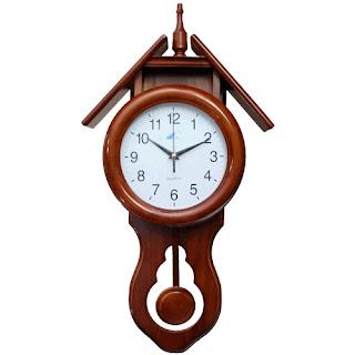 Relojes marcadores de tiempo reloj de p ndulo for Relojes de pared antiguos de pendulo