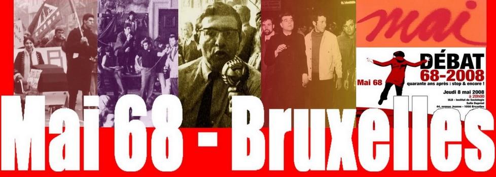 Mai 68-Bruxelles