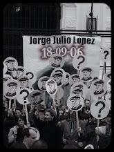 APARICIÓN CON VIDA DE JORGE JULIO LOPÉZ