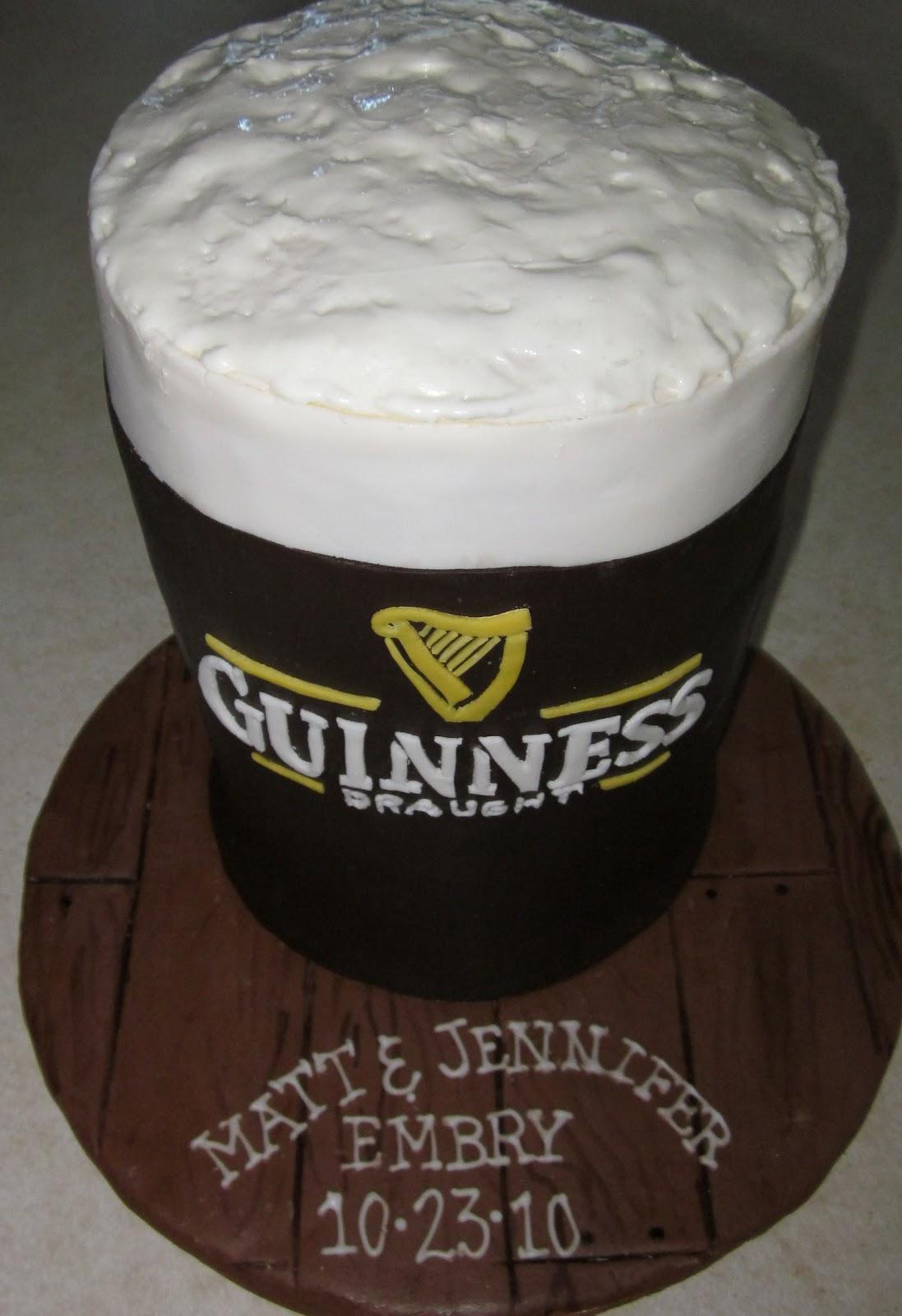 Darlin' Designs: Guinness Cake