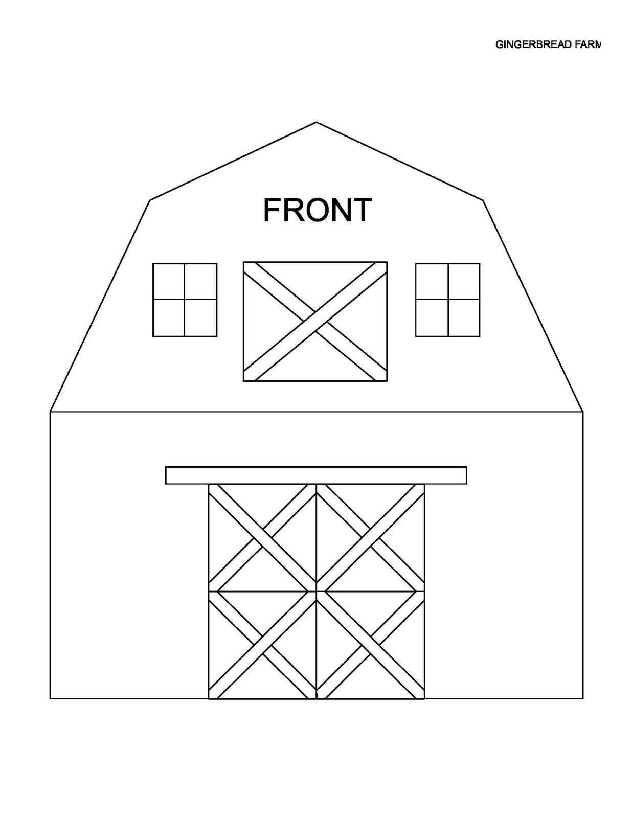 A city chicken farm let 39 s have a ginger barn raising for House patterns