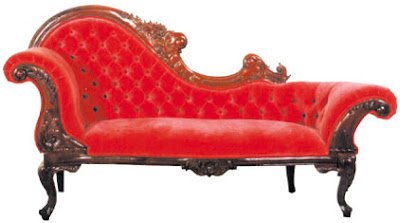 Scarlett Fainting Chaise Sumptuous velvets and embellishments are  experiencing a renaissance...creative, posh, and the ultimate perch for a  div | Pinteres