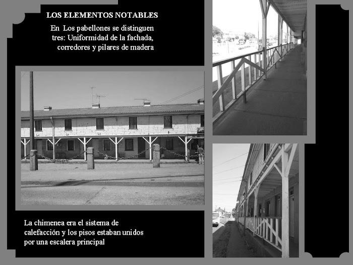 elementos notables de los pabellones de Lota