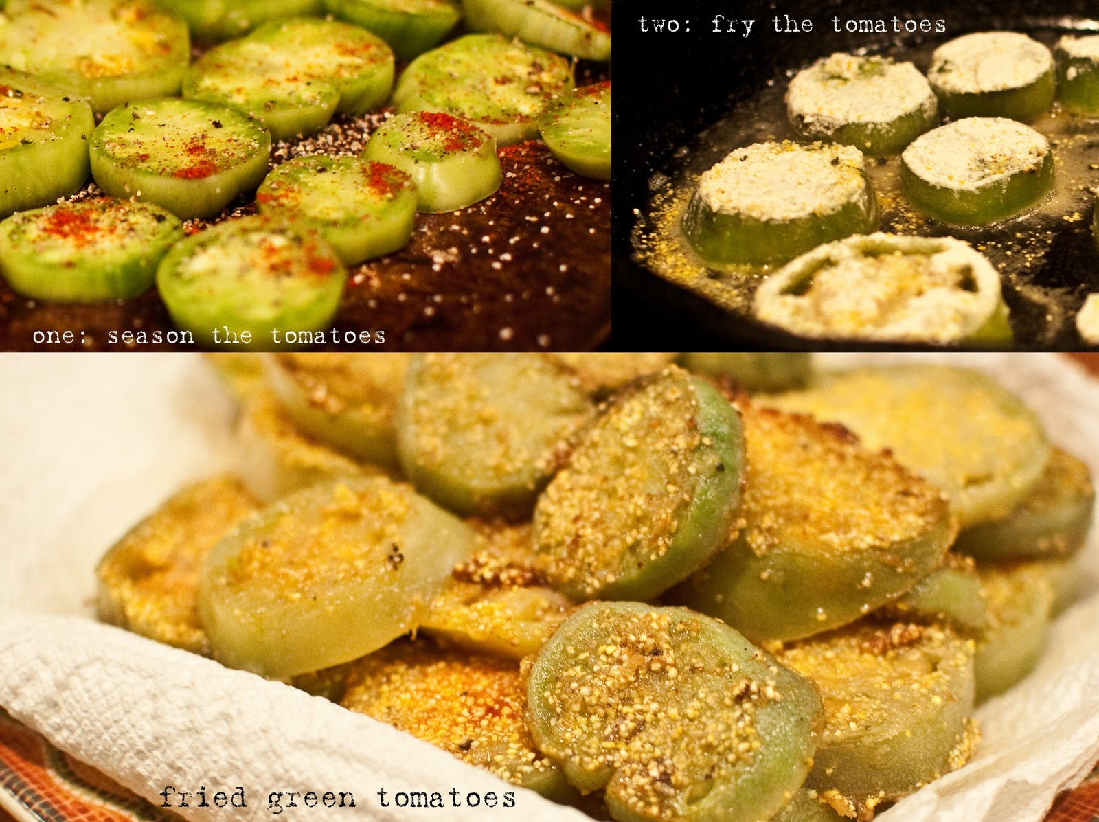 fried green tomatoes main theme So celebrate the fried green tomato with an at-home take on a southern classic when you fill your plate with fried green tomatoes with shrimp rémoulade, or let those slices be the main attraction in your fried green tomato po'boys.