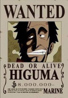 bounty higuma one piece