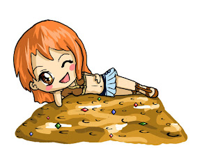 cute funny nami chan x one piece