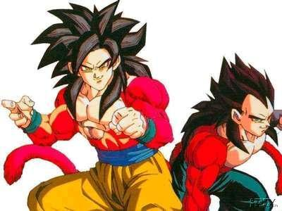 super saiyan pictures. super saiyan 4 goku and vegeta