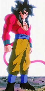 son goku super saiyan 4 dragon ball GT
