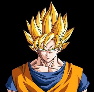 Son Goku Super Saiyan. anime picture dragon ball