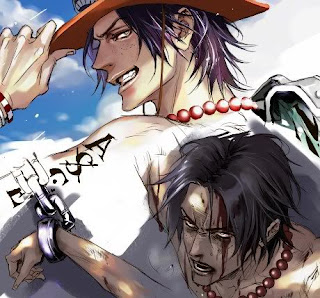 portgas d ace death wallpaper anime one piece power