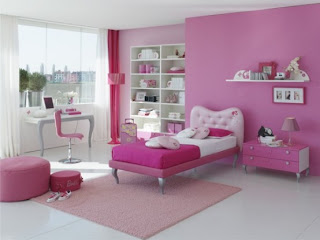 luxury female bedroom modren design decoration