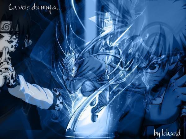 Uchiha Sasuke vs Naruto