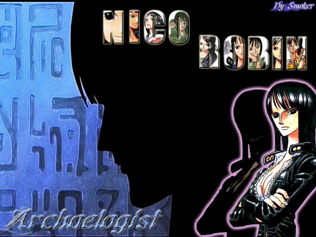 Nico Robin Wallpaper One Piece Anime