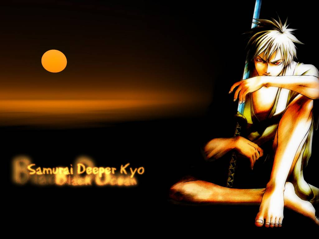 Samurai Deeper Kyo Wallpaper