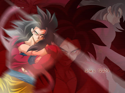 son goku saiyan 4 wallpaper dragon ball gt