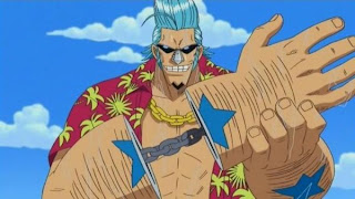 franky one piece cyborg