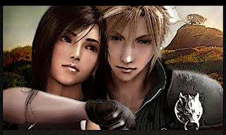 cloud strife and tifa lockhart final fantasy