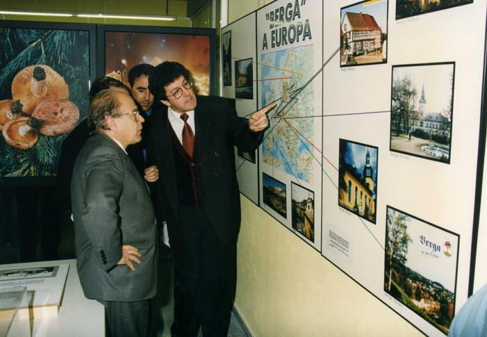 Jairo Narváez, Jordi Pujol Proyectos de Hermanamientos en Europa  marco Comunitario 1995