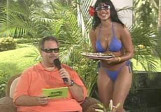 Latina muestra culo gordo
