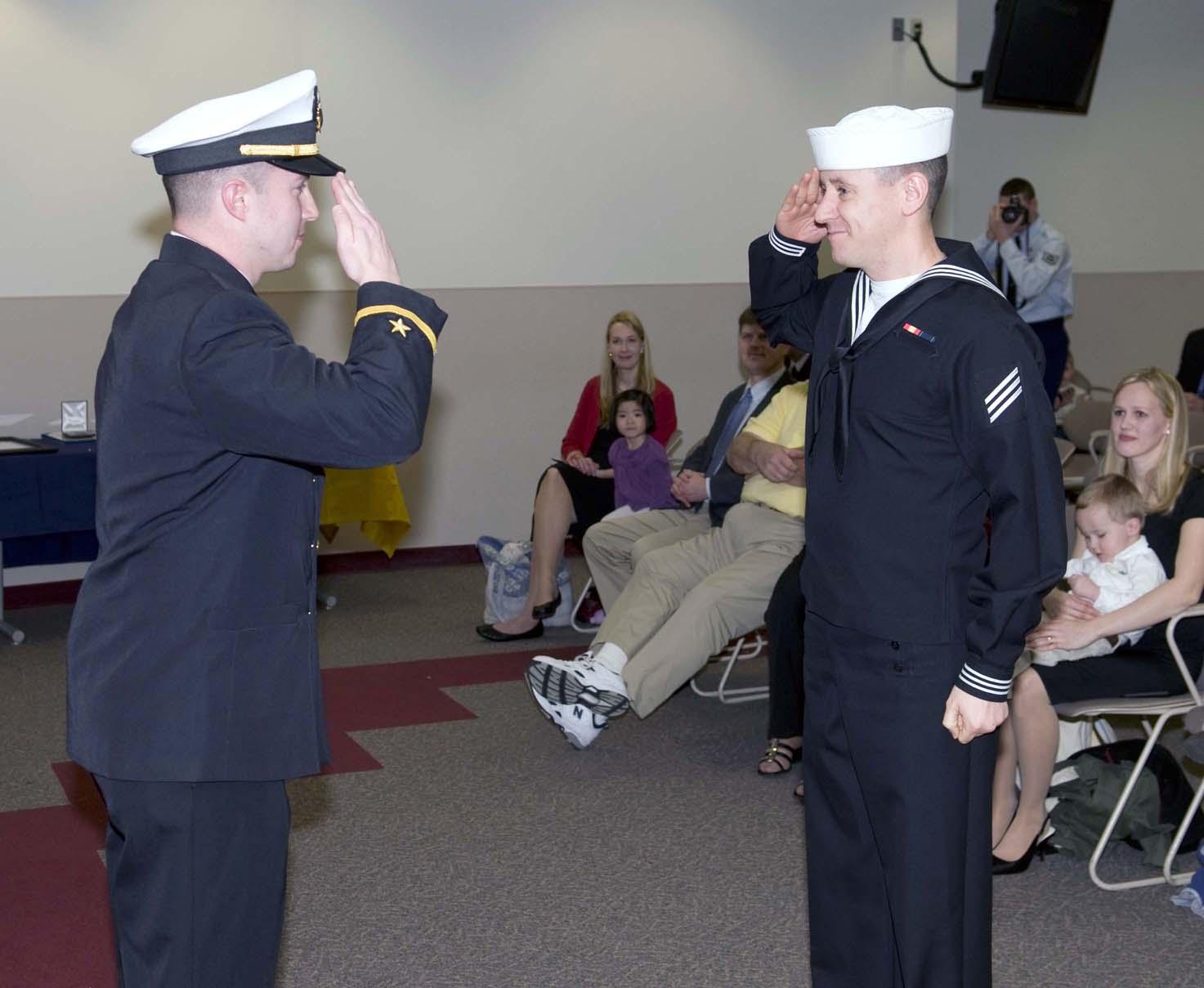 Navy Rdc Yelling