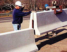 Barreras de Concreto para trafico