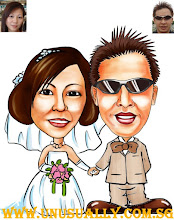 My Caricature Wedding Drawing