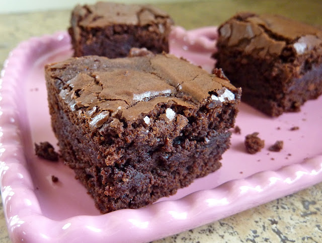 beurrista: chewy, fudgy, triple chocolate brownies