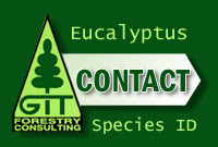 Eucalyptus species identification: Contact GIT Forestry Consulting / Identificación de especies de eucalipto: Contacte a GIT Forestry Consulting / Eucalyptologics: Information Resources on Eucalyptus Cultivation Around the World