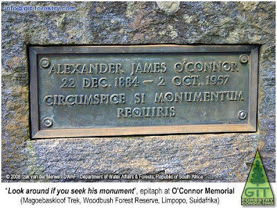 Alexander James O'Connor epitaph