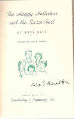 RARE AUTOGRAPH OF HAPPY HOLLISTERS ILLUSTRATOR
