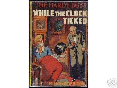 Hardy Boys While the Clock Ticked UK