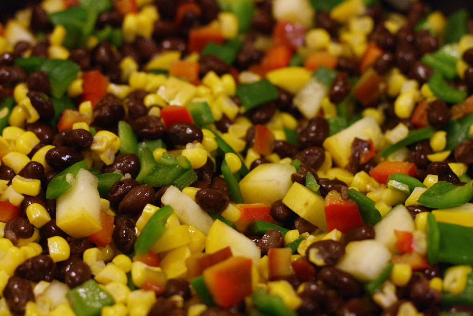 Laine's Recipe Box: Southwestern Rice Salad