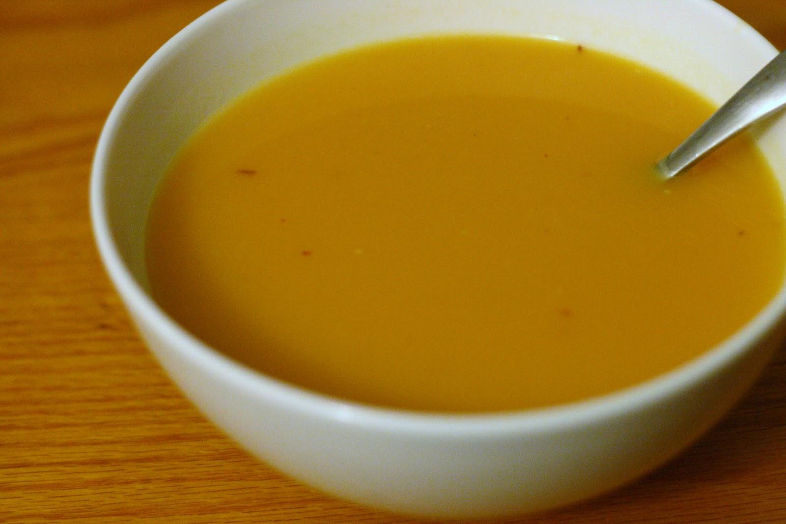 Laine's Recipe Box: Sweet Potato, Chipotle, and Apple Soup