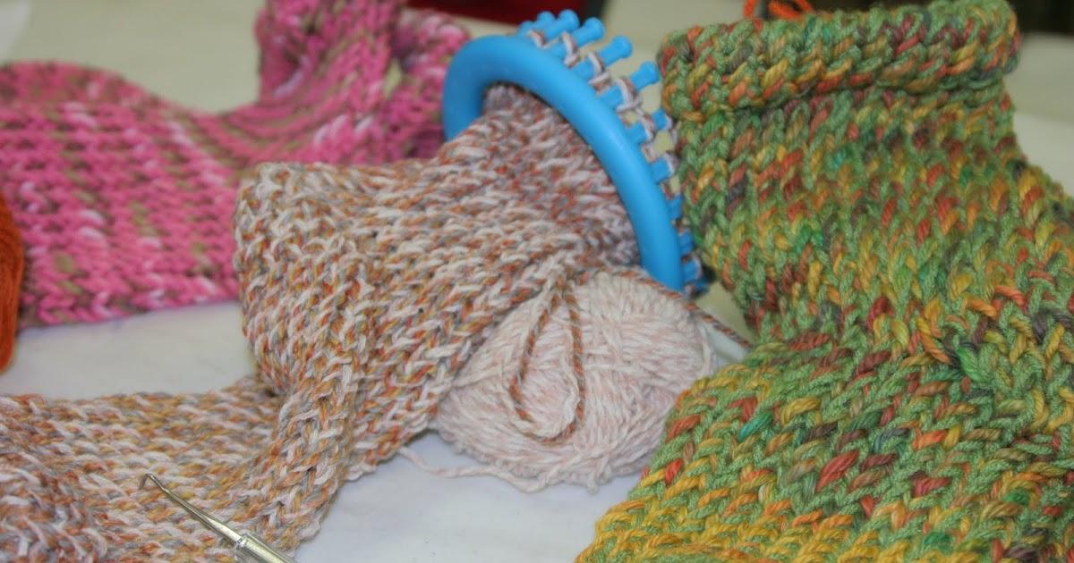 Loom Knitting Knews Sock It To Me