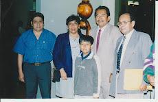La familia del maestro Aquino