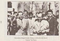 Con el presidente Rodrigo Borja Cevallos en Quito