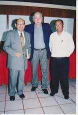 Con Manuel Dammert y Armando Arévalo