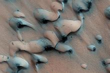Sand Dunes Mars