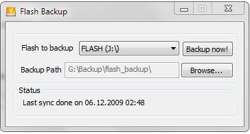 Flash Backup